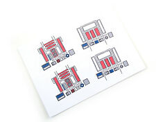 CUSTOM DIE CUT STICKERS for STAR WARS VINTAGE R5-D4  /  R5D4   2 IN TOTAL! BEST