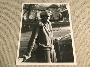 Byron Nelson  Golf Signed Autograph Photo 1930s Texas Open JSA Certified