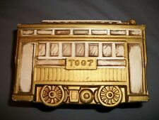 Trolley Car T007 Coin Bank from Gambles Import Group Japan Nice Vintage
