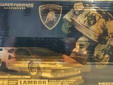Transformers Masterpiece MP 12J LAMBOR Gold Color Sideswipe RARE Complete