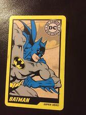 DC COMICS ARCADE! GAME CARD hero ! 001 batman  RARE! DC COIN PUSHER CARD
