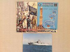 3 CARTOLINE MILITARI ARMA CARABINIERI E MARINAI D' ITALIA