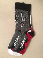 Cleveland Cavaliers CAVS Men Socks- 1 Pair- Large Brand New Free Shipping!