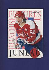 Joe Juneau 1994-95 Fleer Hockey Franchise Futures #5of10