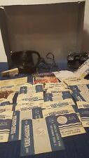 Vintage View Master, Electric projector, Theater wall, 41 reels, asst.literature