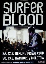 Surfer Blood - 2011-TOUR MANIFESTO-IN CONCERT-Tarot Classics-TOUR Poster