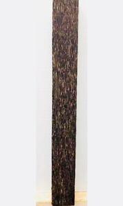 5.1cm X 45.7cm Nero Palma Stecca Spazi, Tornitura Legno, Pistola Coltello Scale