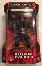 Star Trek Alien Combat Series Klingon Warrior Action Figure MIB, Sealed