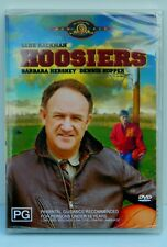 Gene Hackman In Hoosiers MGM DVD Rated PG Region 4 Brand New Sealed