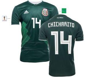 Trikot Adidas Mexiko WM 2018 Home - Chicharito 14 I Hernandez Mexico