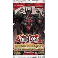 YUGIOH  HIDDEN  ARSENAL  5  BOOSTER  PACKS  X  5   BRAND  NEW