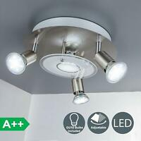 Flush Mount Ceiling Track Lighting Directional Spot Lights Kitchen Hallway