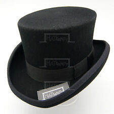 VINTAGE Wool Felt Kids Topper Child Top Hat Boys FORMAL Tuxedo   50cm   Black