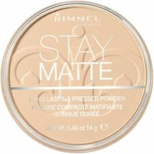 Rimmel London Stay Matte Pressed Powder, Shine Control Formula with Mineral