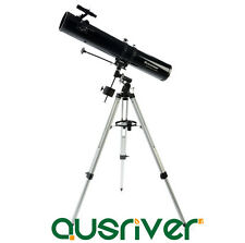 Celestron Astronomical PowerSeeker 114EQ Telescope With Tripod Easy Setup 21045