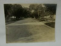 Large Vintage Photograph - South End Superior Street - Fond du Lac Wisconsin