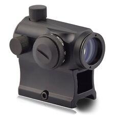 Rifle Red Green Dot Reflex Sight Shooting Hunting Gun Scope Optic High Mount NEW