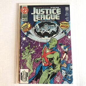 Justice League America 50 DC Comics 1991 VF + / NM - 8.5 - 9.0 Dematteis Griffin