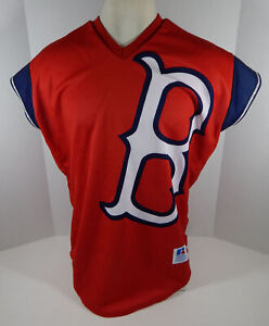 Rare 1999 Boston Red Sox Authentic Red Jersey Turn Ahead The Clock 48 Russell