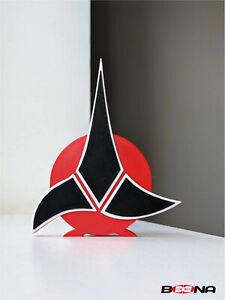 Decorative self standing STAR TREK - KLINGON EMPIRE logo display