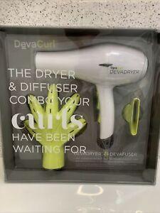 DevaCurl DevaDryer & DevaFuser combo set NEW IN BOX