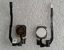 Home Button + Cable Flexible Dedo Imprimir Táctil Id Sensor Blanco Iphone 5S /