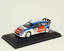 FORD FOCUS WRC Vainqueur Winner Rallye de Wallonie BELGIUM 2006 #1 Tsjoen Ixo 1:43