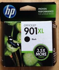 (1) HP 901XL HP 901 XL INK CARTRIDGE, BLACK, HP OFFICEJET, NOVEMBER 2014