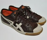 Onitsuka Tiger Women's 7 US / 38 Leather Laced Up Sneakers Shoes HL8L1