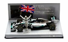 1 43 MINICHAMPS MERCEDES F1 W05 hybrid Hamilton World Champion 2014