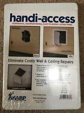 """Karp Handi panel de acceso 6""""x9"""" 150mm X 227mm Blanco Inspección Escotilla/Puerta Usa"""