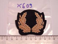Marine Mützenabzeichen golden Handgestickt 1 Stück (x609)