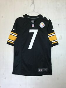 Nike NFL Pittsburgh Steelers Football Ben Roethlisberger On Field Jersey Size S