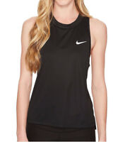 Nike Women's Dry Miler Black Running Tank (932497-010) Sizes S/M/L/XL - NWT