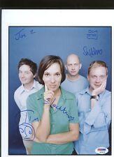 S10679 Stereolab Gane Jeffery Sadier Signed 8x10 PSA/DNA LOA AUTO Autograph