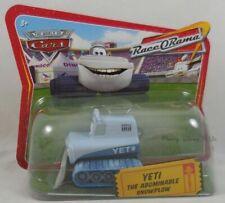 Disney Pixar CARS Yeti The Abominable Snowplow Diecast Short Card Race O Rama