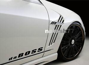 da BOSS Vinyl Decal Sticker Sport Racing Performance Car Truck 4x4 emblem logo