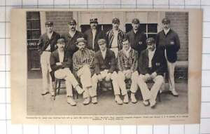 1903 Gloucester Cricket Team Photo With Key