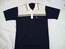 VINTAGE YSL YVES SAINT LAURENT POLO T SHIRT Chemise De France Classic Casual