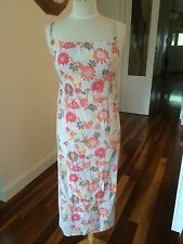 Country Road Long Summer Sun Dress - Size 8-10