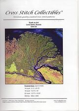 Cross Stitch Collectibles Pattern: Earth as Art, Lena Delta, Russia, 2005, New