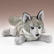 New Gray Wolf Plush Stuffed Animal Wild Dog Toy Wildlife Artists 13 Inch XL Toys