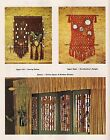 Macrame Window Shutters Pattern - Craft Book: J100 To Knot or Not to Knot