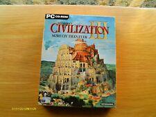 Sid Meier's Civilization III Big Box PC CD-ROM (2001)