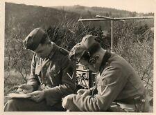 Schw Artillerie Abt 852. Heimat ? Funker Ausbildung Nachrichten Gerät Beobachter