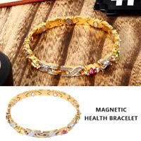 Damen Energie Magnet Armband Therapie Gesundheitswesen Gewichtsverlus Armkette