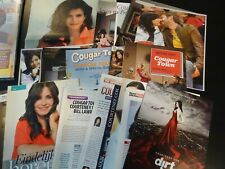 Courteney Cox  25 full pages   Clippings