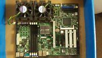 SuperMicro (X6DVL-EG2) server Motherboard 2 Xeon 2.8 GHz  Heat Sinks  1.5 GB Ram