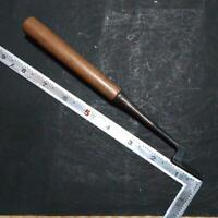 Naohide 9 mm Japanese Vintage Woodworking Carpentry Tool Chisel Kote Nomi Used