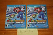 Mario Tennis: Ultra Smash (Nintendo Wii U) NEW SEALED Y-FOLD MINT!